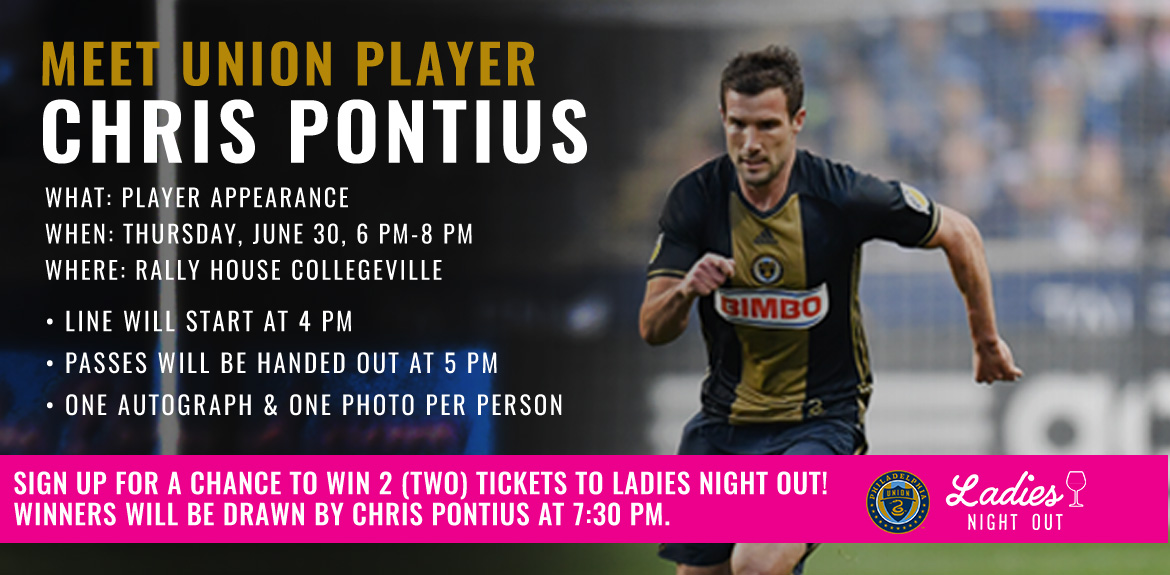 Meet Union Player Chris Pontius