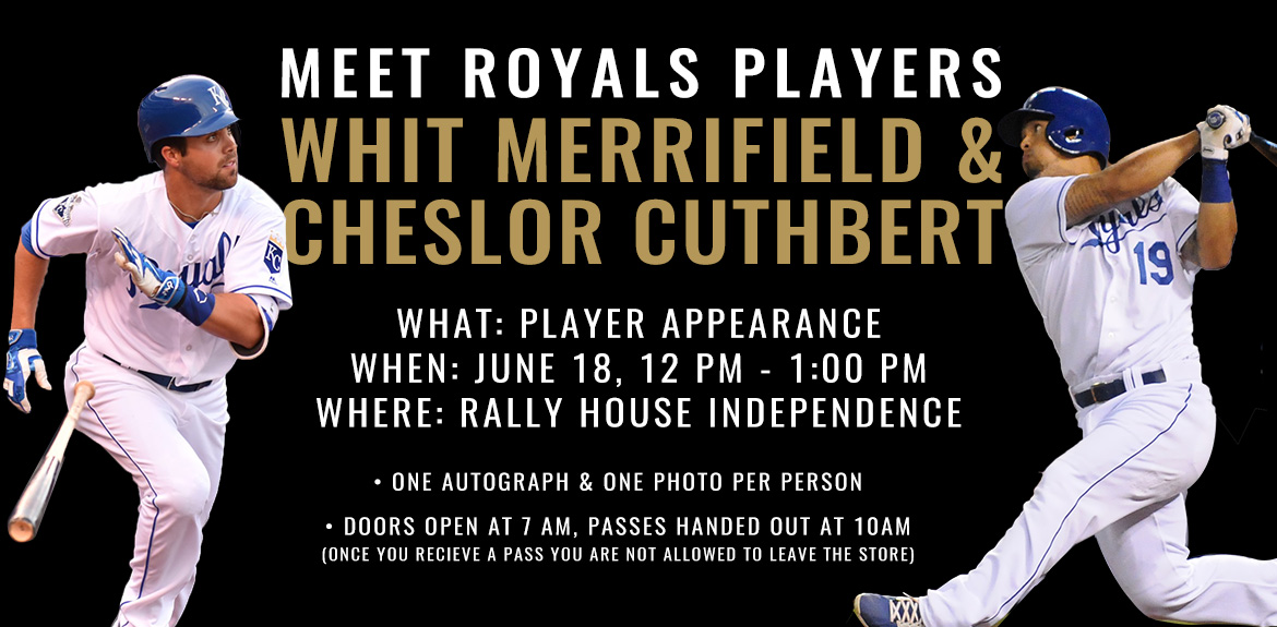 Meet Royals players Whit Merrifield and Cheslor Cuthbert