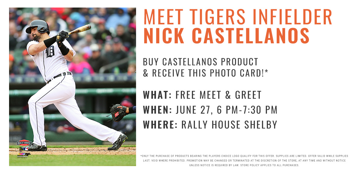 Meet Tigers Infielder Nick Castellanos