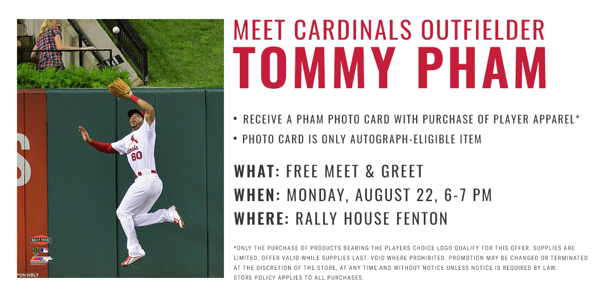 Meet Cardinals Outfielder Tommy Pham