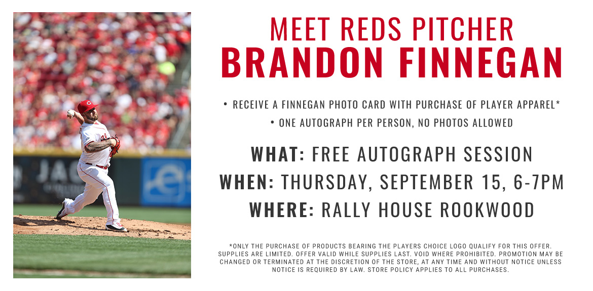 Meet Reds Pitcher Brandon Finnegan