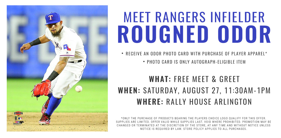 Meet Rangers Infielder Rougned Odor