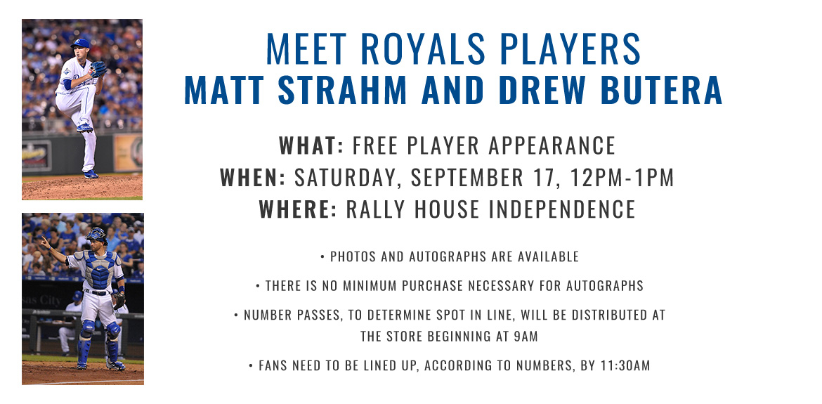 Meet Royals Players Matt Strahm and Drew Butera