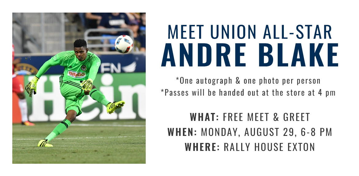 Meet Union All-Star Goalie Andre Blake