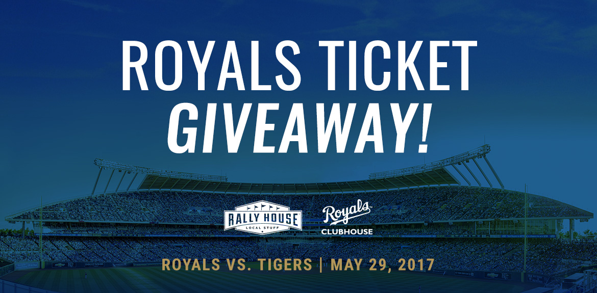 Win 4 Tickets to Royals vs. Tigers on Memorial Day!