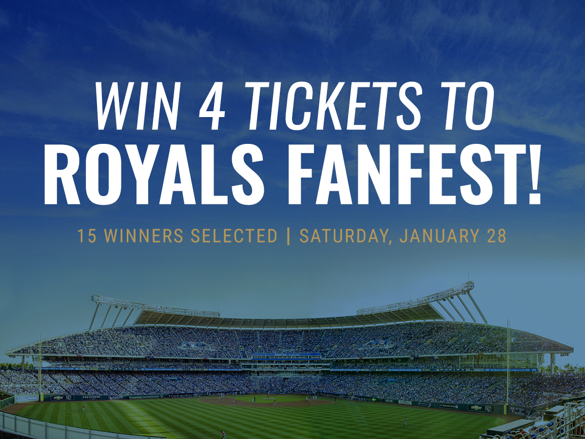 Win 4 tickets to Royals Fanfest!