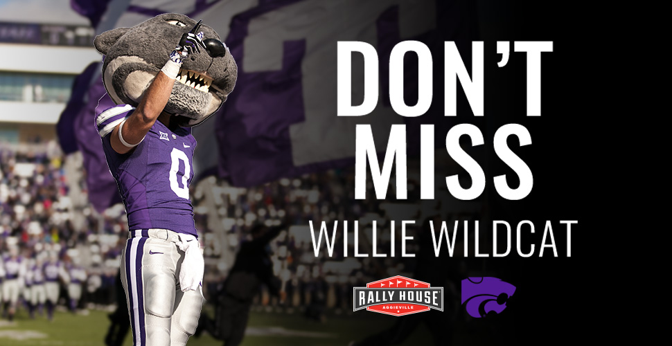 Meet Willie the Wildcat on April 22!