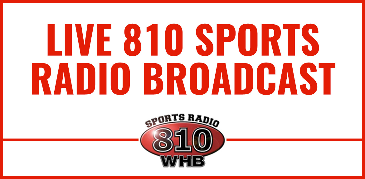 Live Broadcast with 810 Sports Radio WHB