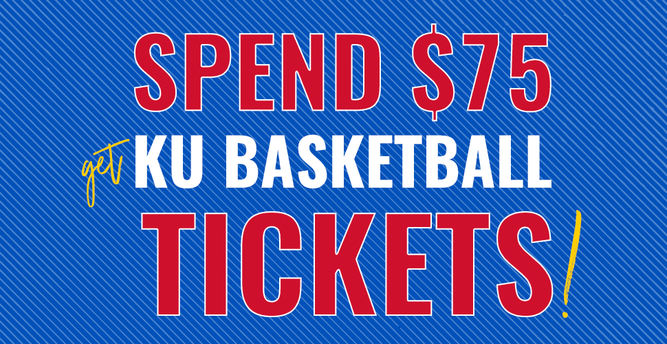 Get 2 Complimentary Tickets to the KU vs. Pitt State Basketball Game!