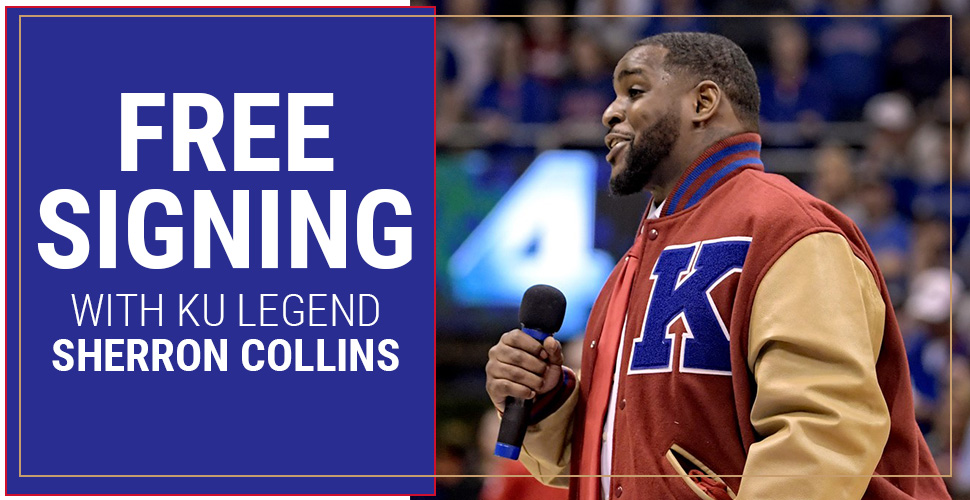 Free Signing with Jayhawk Legend Sherron Collins