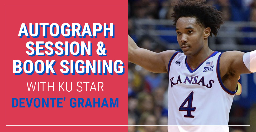 Autograph Session & Book Signing with Devonte' Graham