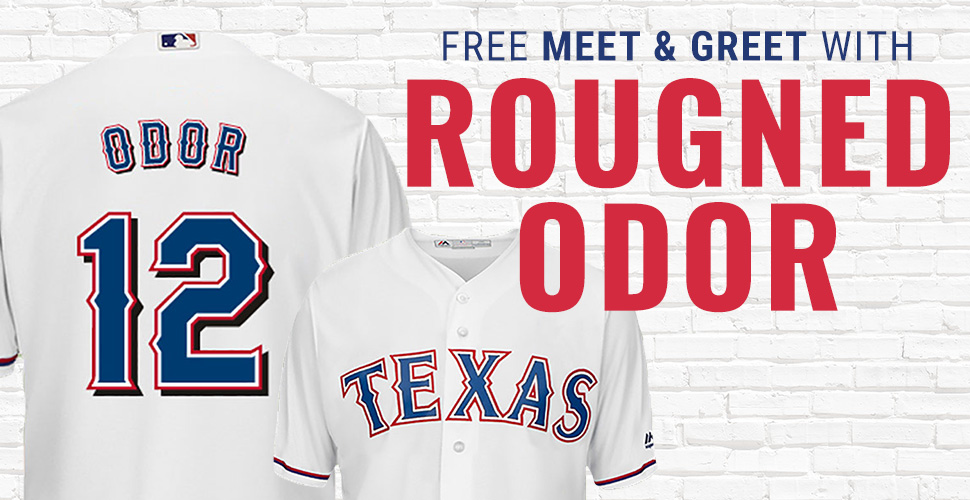 Free Meet & Greet with Rougned Odor