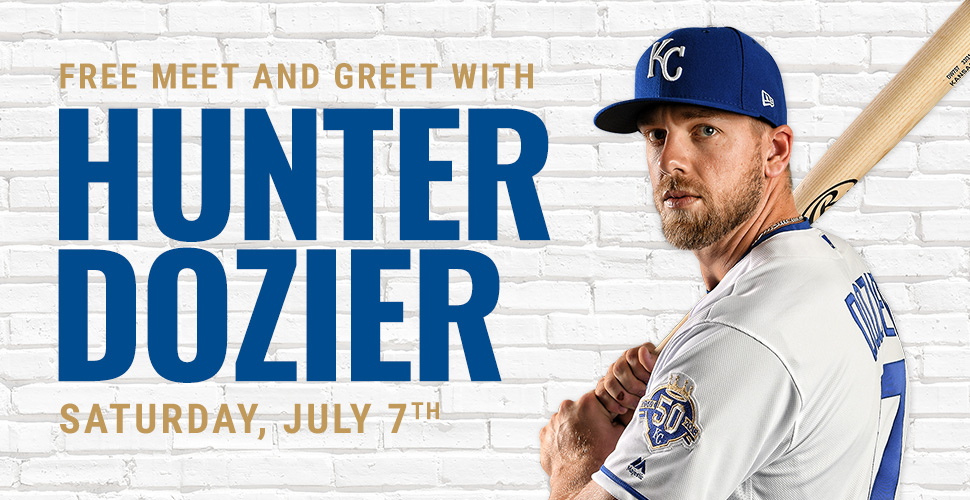 Free Meet & Greet with Hunter Dozier