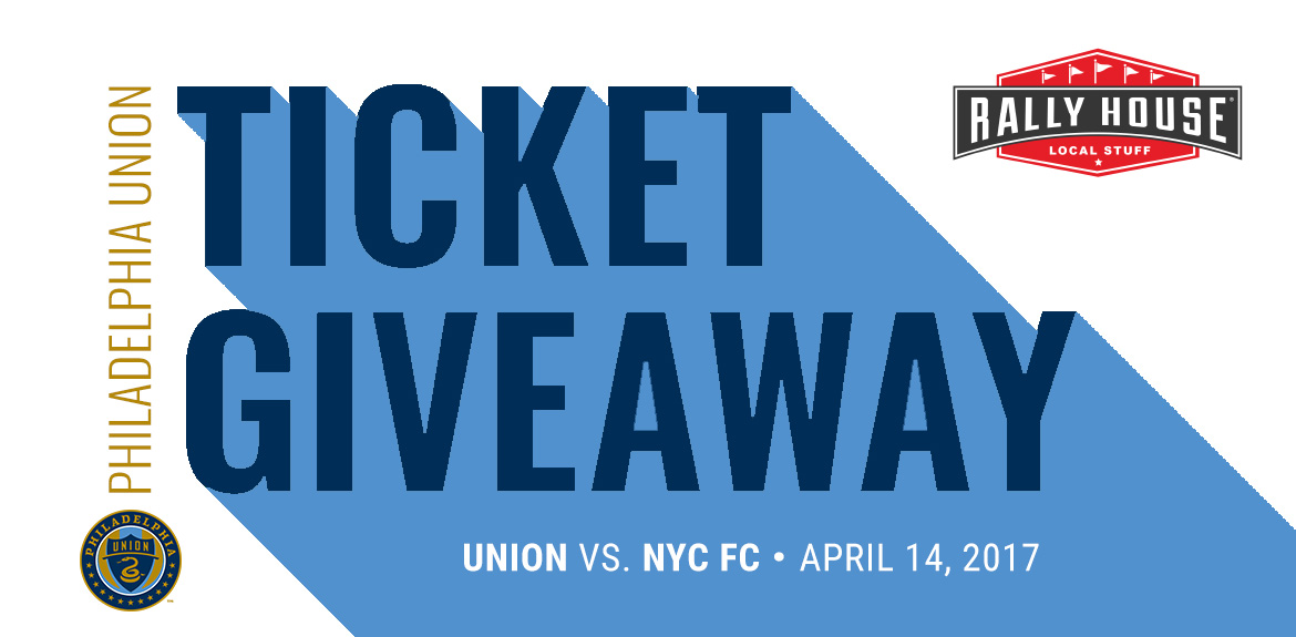 Win 4 Tickets to Union vs. New York City FC on April 14!