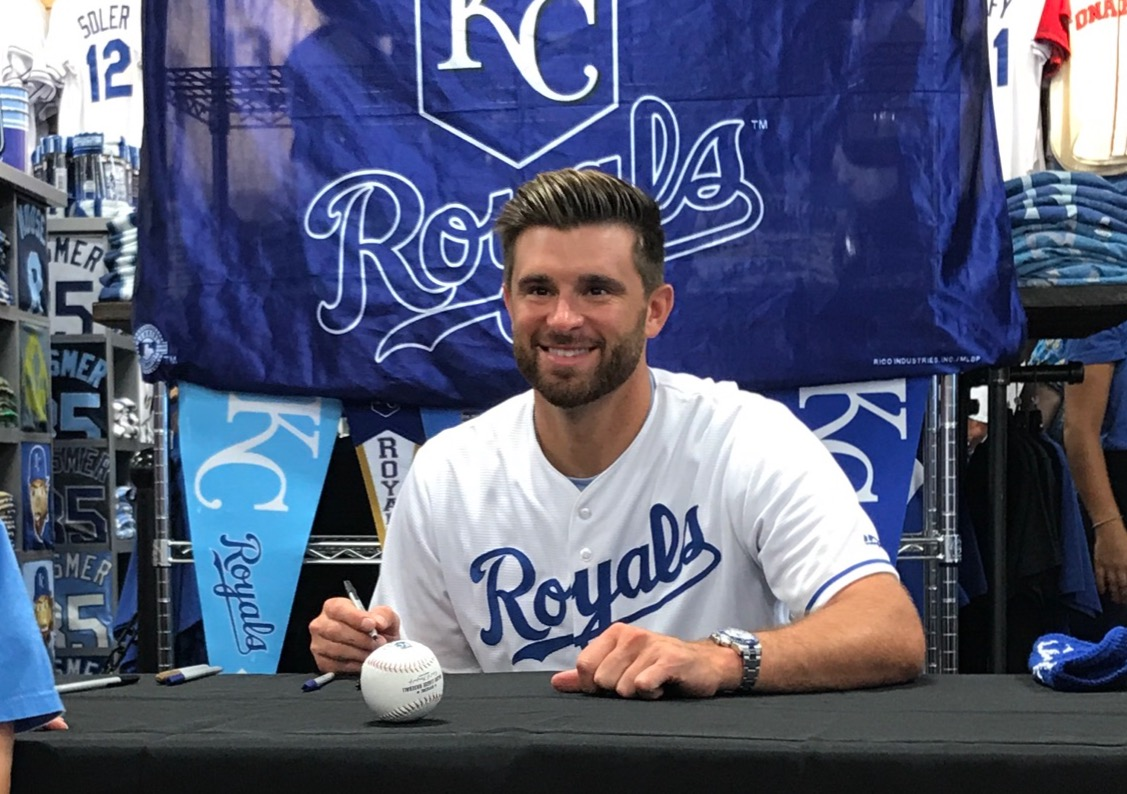 WIN a jersey worn and autographed by Kansas City Royals catcher Drew Butera from Rally House.