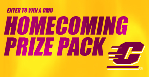 Rally Road Trip: Win a Trip to Mount Pleasant for CMU Homecoming