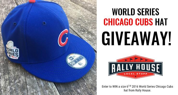 World Series Chicago Cubs Hat Giveaway