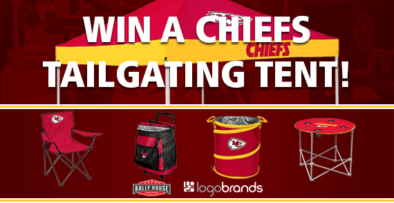 Enter to Win a Chiefs Tailgate Tent