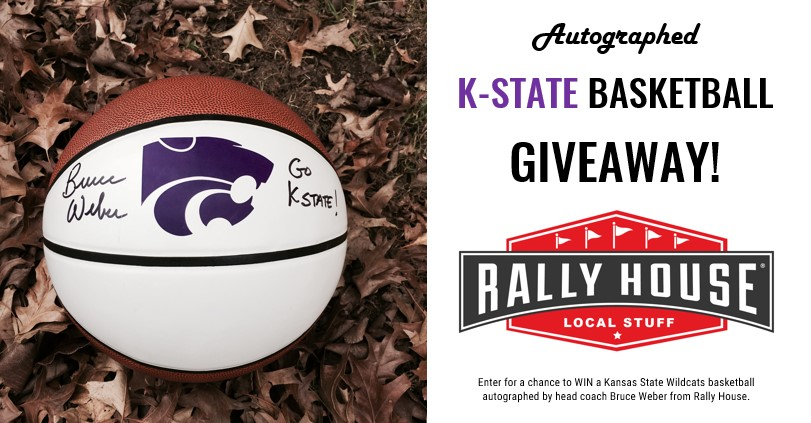 K-State Basketball Autographed by Head Coach Bruce Weber