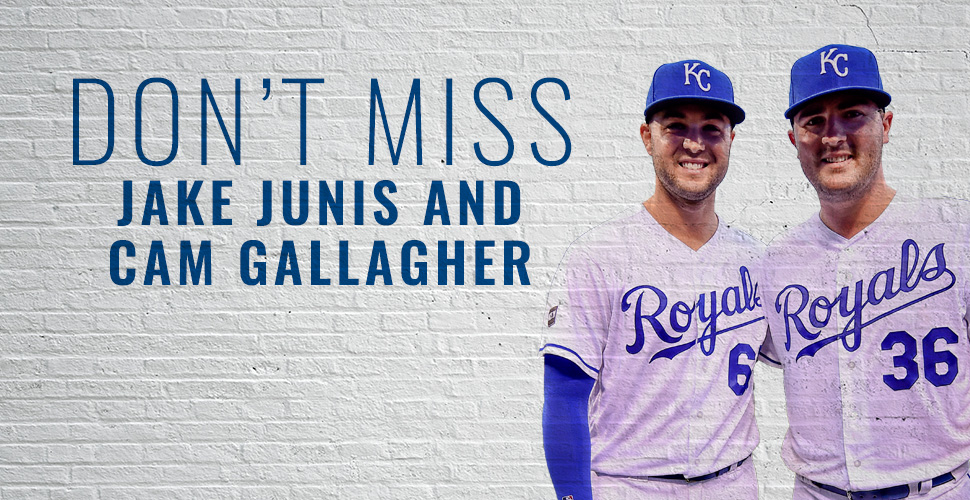 Free Meet & Greet with Jakob Junis and Cam Gallagher