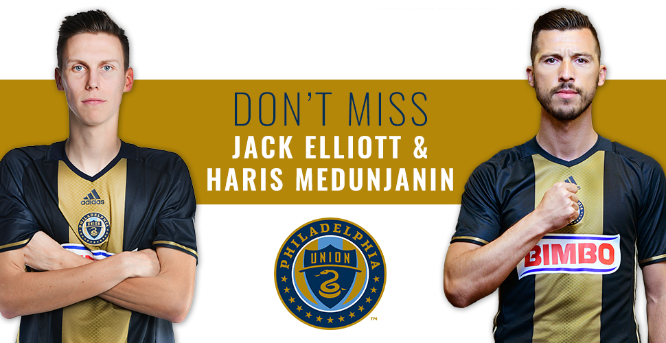 Free Meet & Greet with Jack Elliott and Haris Medunjanin