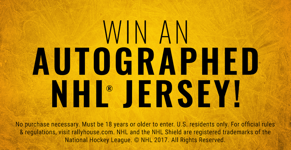 Win an Autographed NHL Jersey