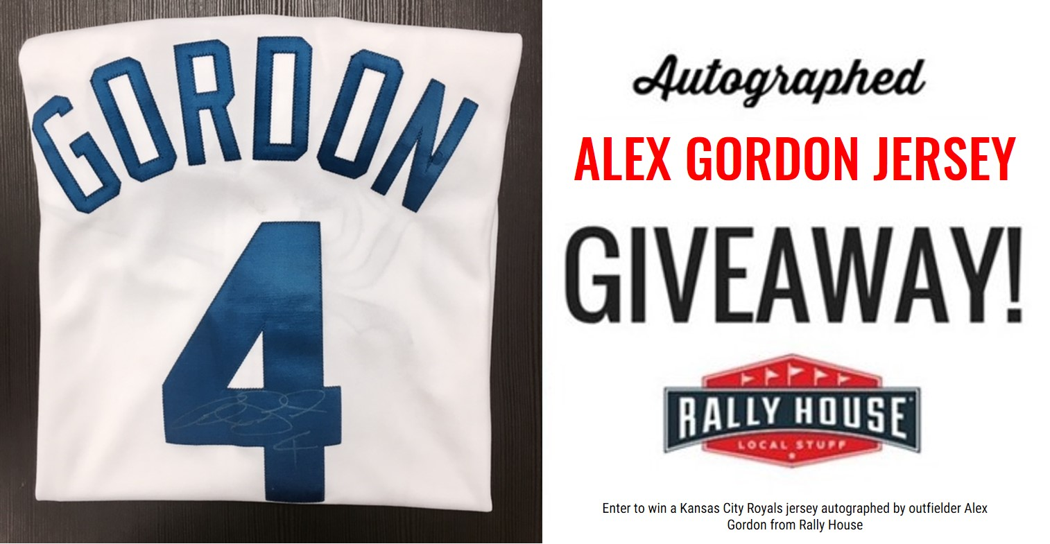 Royals Jersey Autographed by Alex Gordon