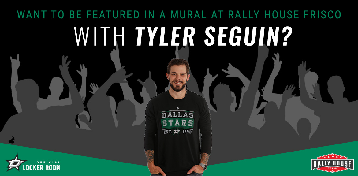Be Featured in a Mural with Tyler Seguin!