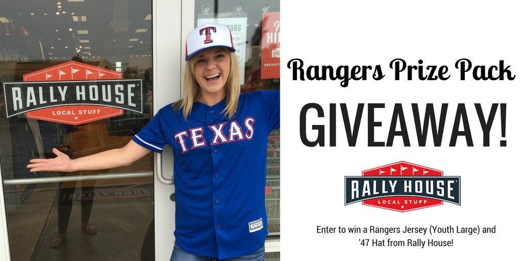 Win a Rangers Jersey and '47 Hat from Rally House!