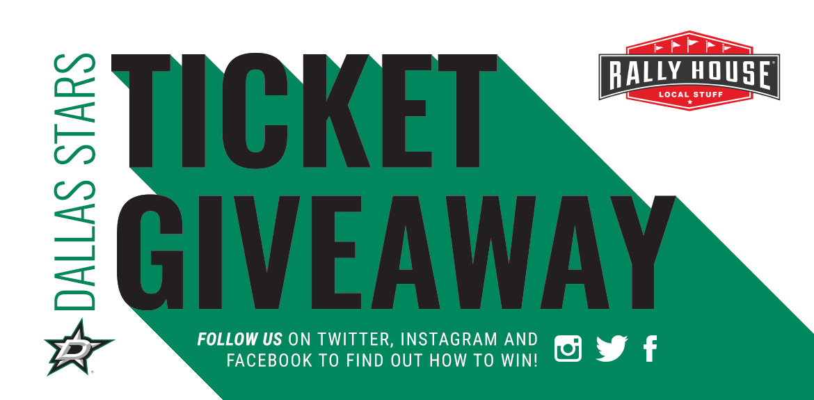 Win Tickets to a Dallas Stars Game!