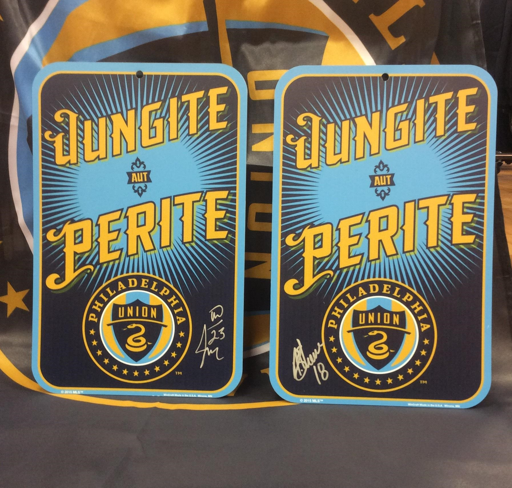 Win one of two Philadelphia Union fan cave signs