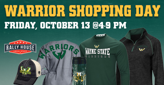 Wayne State Homecoming Shopping Night