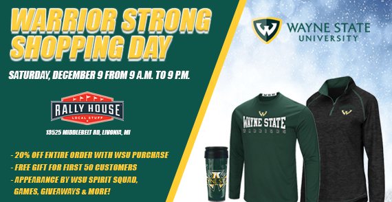 Wayne State Holiday Shopping Night
