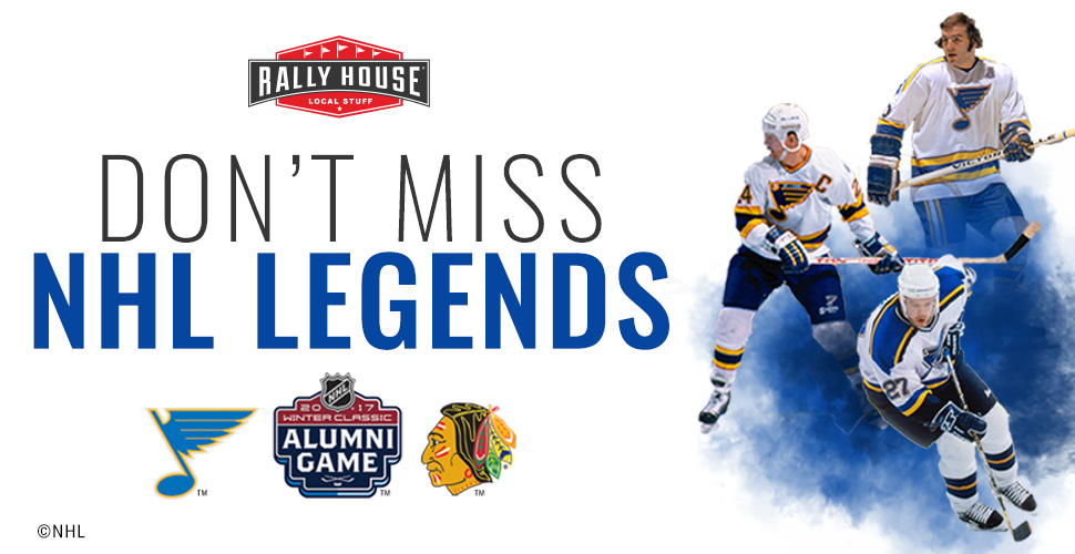 Winter Classic Q&A and Signing with Blues Alumni