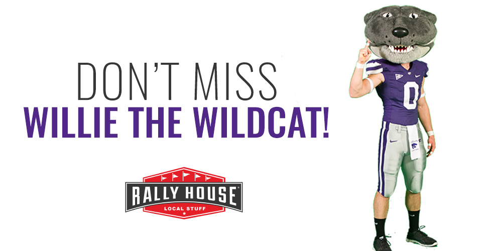 Meet Willie the Wildcat at Rally House Aggieville