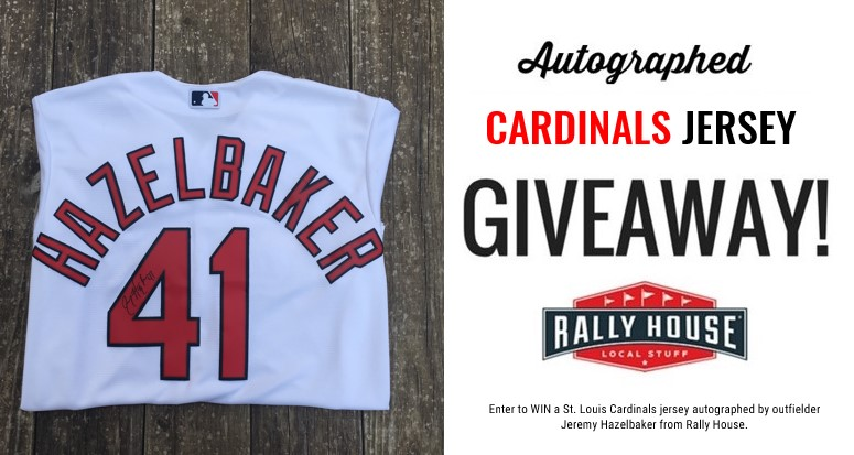 Autographed Cardinals Jersey Giveaway