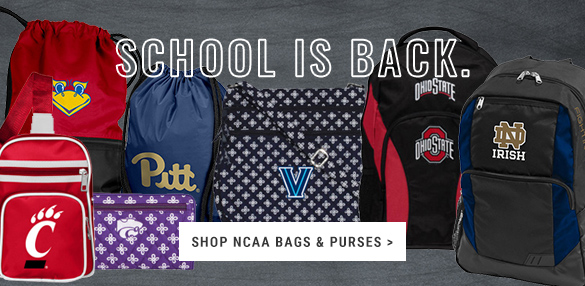 School is Back! Shop NCAA Bags, Backpacks, Purses & More at Rally House.
