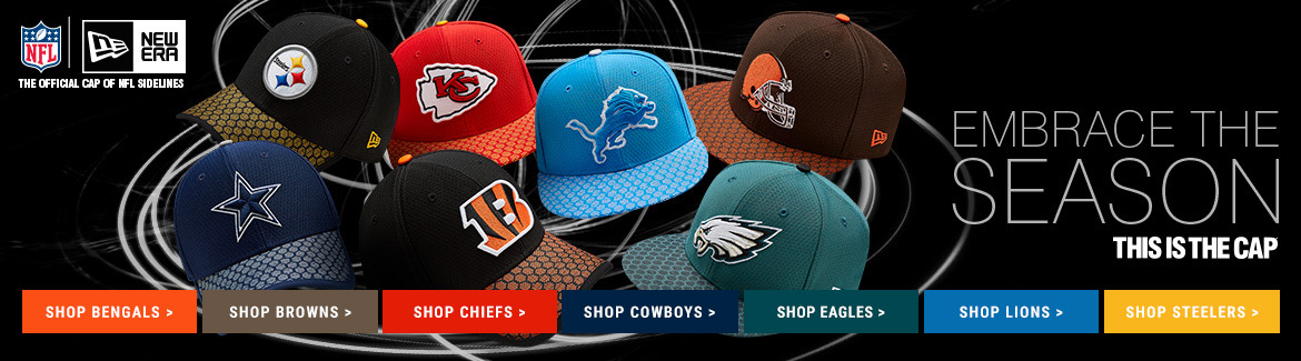 Shop NFL New Era Hats for Your Favorite Team at Rally House