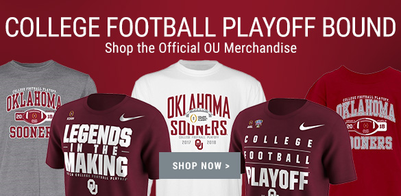 Shop Oklahoma Sooners College Football Playoff Merchandise
