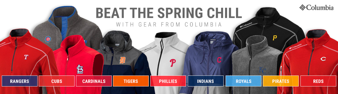 MLB Columbia Brand Apparel