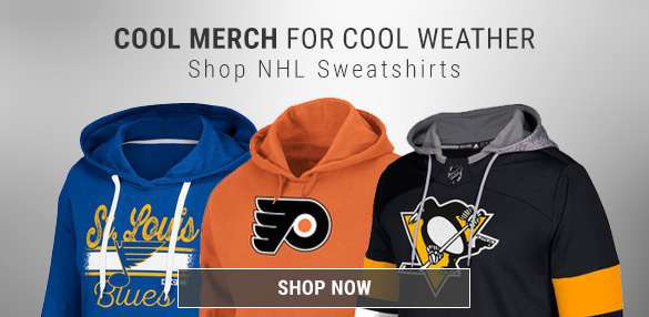 Shop New NHL Hoodies & Sweatshirts