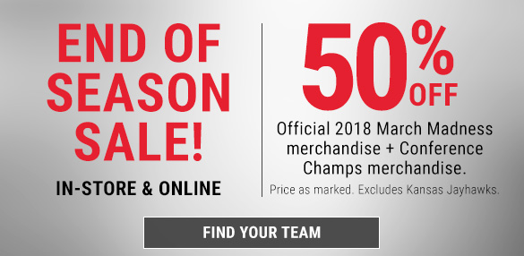 2018 March Madness Clearance