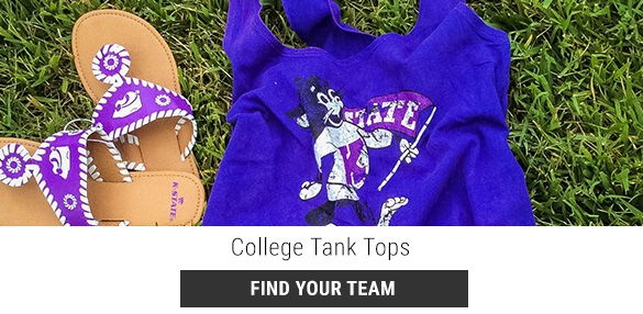 Shop College Tank Tops!