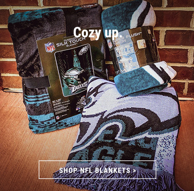 Get Cozy with NFL Blankets