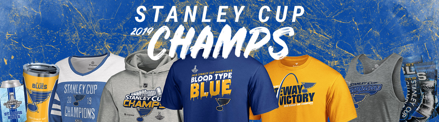 Shop Official Blues 2019 Stanley Cup Championship Product