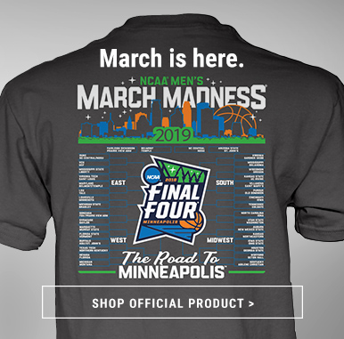 Official March Madness Apparel