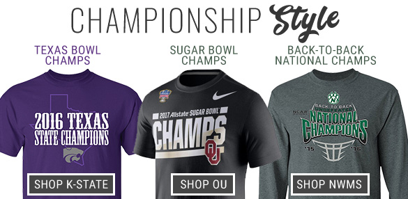 Shop K-State Texas Bowl Champs and Northwest Missouri State National Champs!