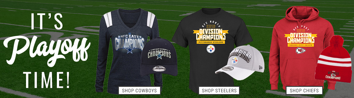 Gear up for the 2017 NFL Playoffs!