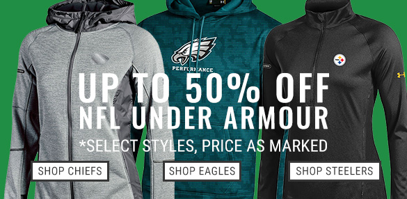 Shop NFL Under Armour 40% Off!