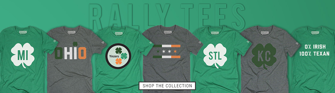 Shop St. Patrick's Day Rally Tees